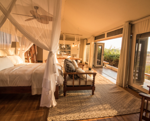 Chikwenya Lodge Bedroom - Private Guides - Wild Again