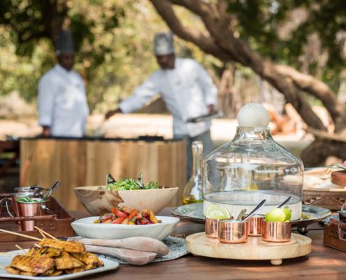 Chikwenya Lodge Restaurant - Private Guides - Wild Again