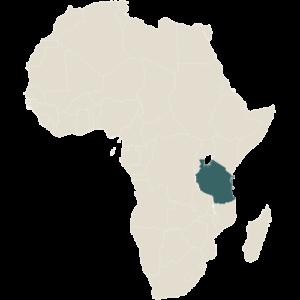 East Africa Family Private Wellness Safari Map