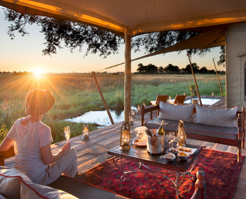 Great Plains Conservation - Private Deck - Wild Again