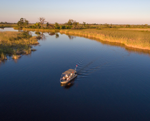 Londolozi - Little Vumbura - Boat Ride - Wild Again