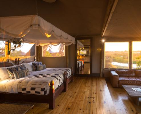 Londolozi - Little Vumbura - Private Guides - Bedroom