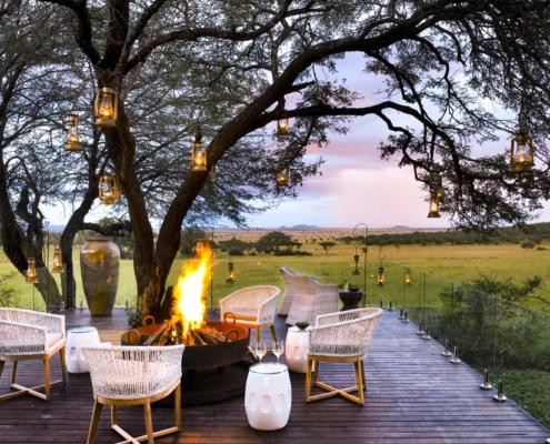 Serengeti House bush fire - Private Guides - Wild Again