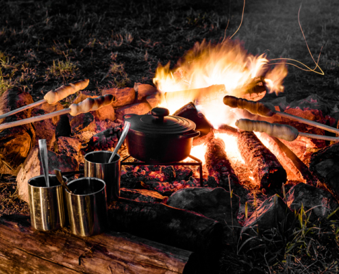 Serengeti Outdoor Fire Cooking - Private Guides - Wild Again