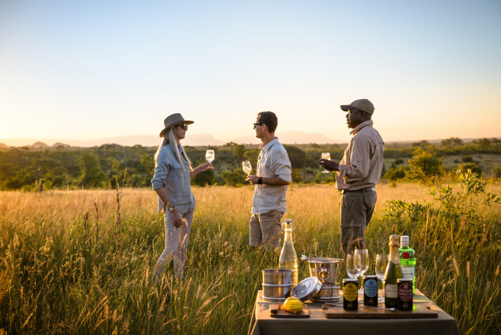 What to pack for safari, Singita, Wild Again, summer safari, drinks stop