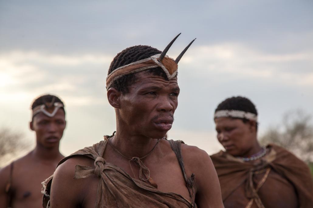 Summer Safari Botswana and Zambia. San Bushman walk